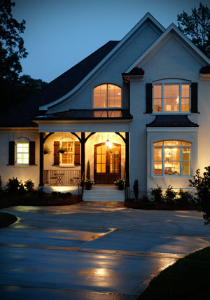 Privacy At Night Your Window Solution Eco Tint And Shade - Exterior window tint for homes